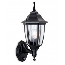 Firstlight Faro PIR Single Light Traditional Porch Light 8663BK