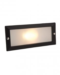 Firstlight 1120BK Single Light Modern Recessed Outdoor Light