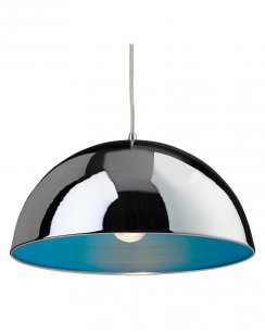 Firstlight Bistro Single Light Modern Pendant Light 8622CHBL
