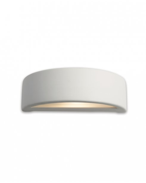 Modern Ceramic Wall Lights : Firstlight C346UN Ceramic 1 Light in Unglazed White