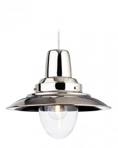 Firstlight Fisherman Single Light Traditional Pendant Light 8645CH