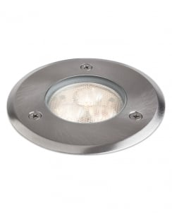 Firstlight LED Walkover 3 Light Modern Recessed Outdoor Light 2337ST
