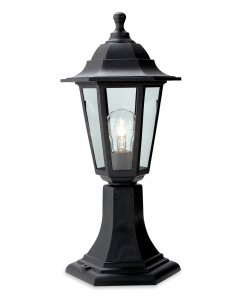 Firstlight Malmo Single Light Traditional Outdoor Light Post 8350BK