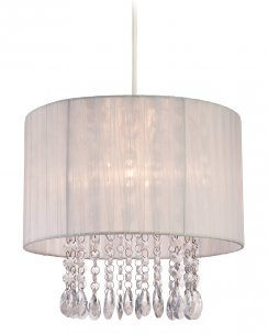Firstlight Organza Shade Only Accessory 8634WH