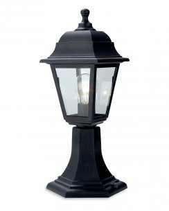Firstlight Oslo Single Light Traditional Outdoor Light Post 8347BK