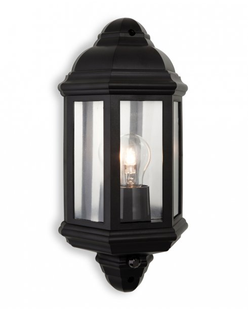 Firstlight Park PIR Single Light Traditional Porch Light 8656BK