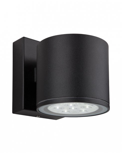 Vegas 6 Light Modern Porch Light 8084BK