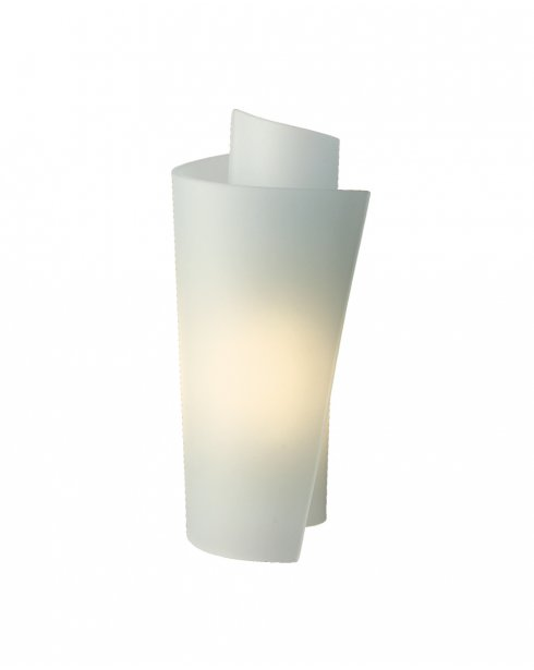 Firstlight Vetro Single Light Modern Decorative Wall Light WL223SS