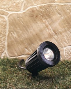 Firstlight GLR50BK Single Light Outdoor Spike Light