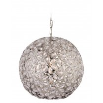 Firstlight Goa Single Light Crystal Pendant Light 8647CH