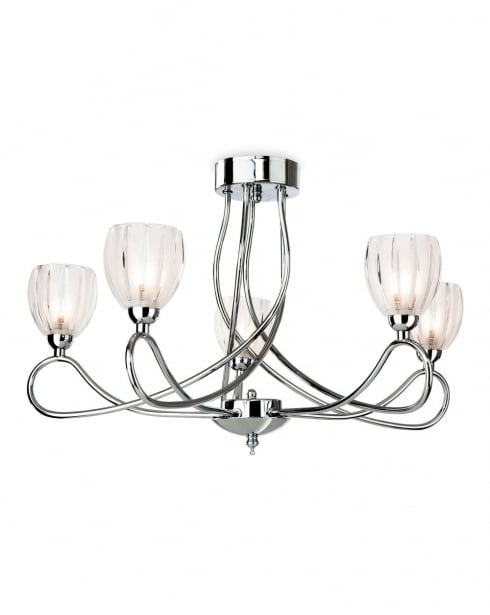 Firstlight Grove Semi-Flush Light 5919CH