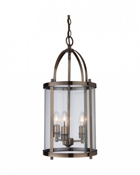 Firstlight Imperial 3 Light Traditional Pendant Light 8301AB