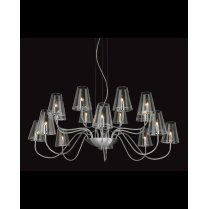 Firstlight Jasmine 16 Light Modern Multi-Arm Pendant 4235CH