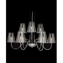 Firstlight Jasmine 9 Light Modern Multi-Arm Pendant 4234CH