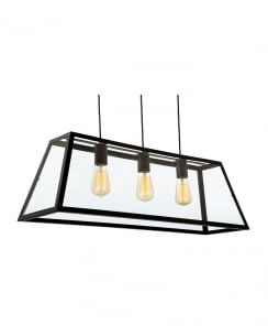 Firstlight Kew Pendant Light 3438BK