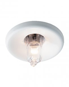 Firstlight LV1350WH Single Light Modern Spotlight Fitting