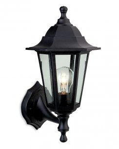 Firstlight Malmo Single Light Traditional Porch Light 8349BK