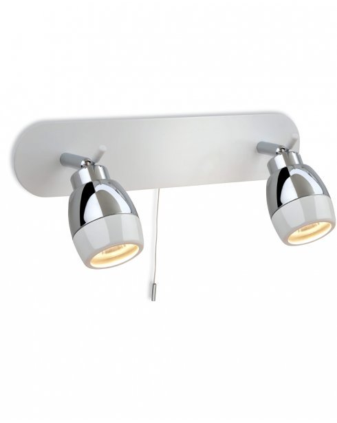Firstlight Marine 2 Light Modern Bathroom Spotlight Fitting 8202WH
