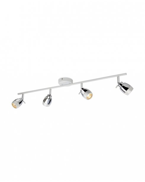 Firstlight Marine 4 Light Modern Bathroom Spotlight Fitting 8204WH