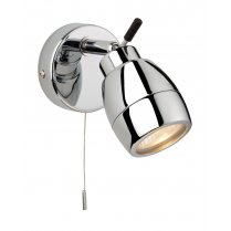 Firstlight Marine Single Light Modern Bathroom Spotlight Fitting 9501CH