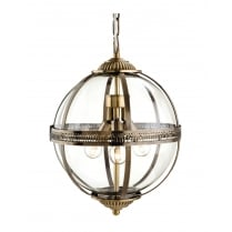 Firstlight Mayfair Pendant Light 3413AB