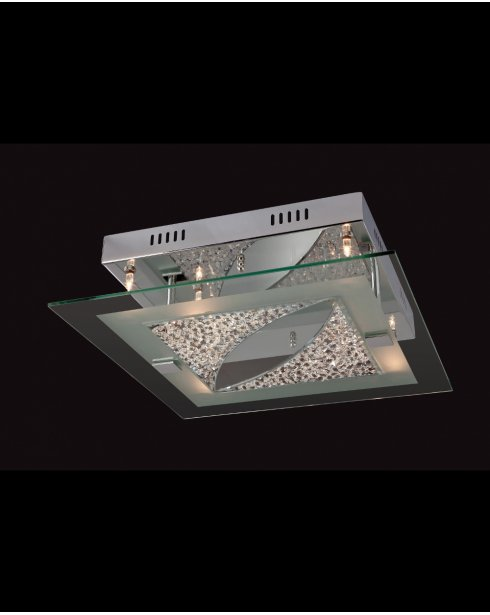 Firstlight Melissa 6 Light Modern Flush Ceiling Fitting 4250CH