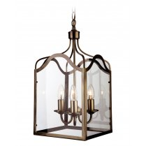 Firstlight Monarch 3 Light Traditional Pendant Light 8638AB