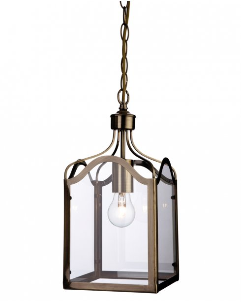 Firstlight Monarch Single Light Traditional Pendant Light 8637AB