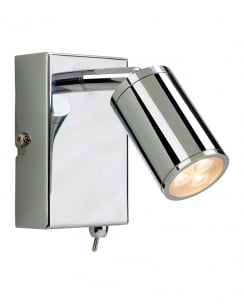 Firstlight Orion LED Wall Mounted Spotlight 3453CH