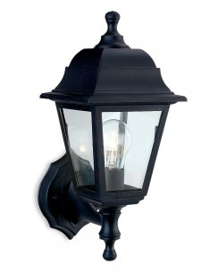 Firstlight Oslo Single Light Traditional Porch Light 8346BK