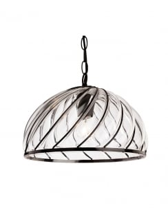 Firstlight Pascal Pendant Light 4868BK