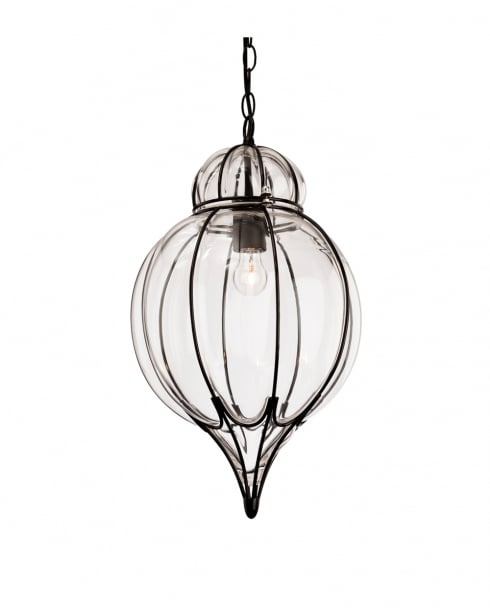 Firstlight Pascal Pendant Light 4869BK