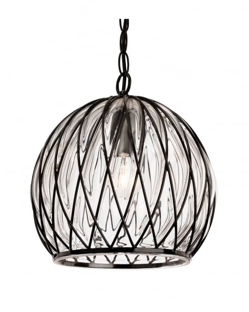 Firstlight Pascal Pendant Light 4870BK