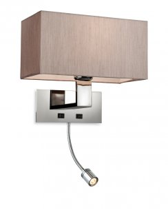 Firstlight Prince 2 Light Modern Articulated Wall Light 8608OY