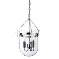 Firstlight Regal 3 Light Modern Multi-Arm Pendant 8636CH