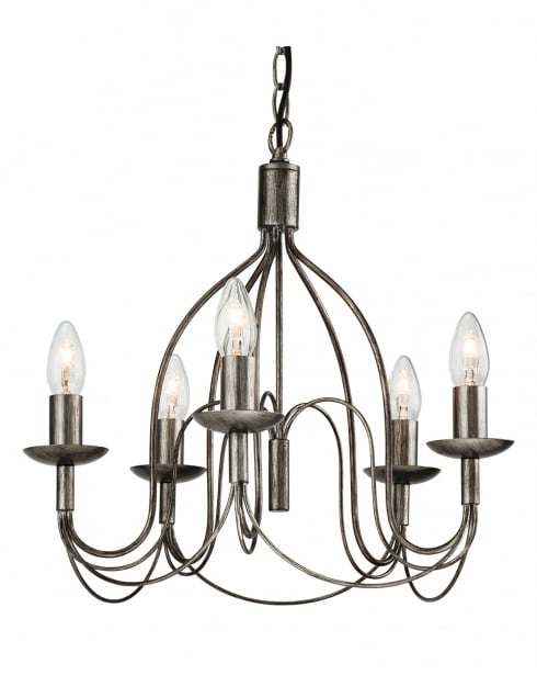 Firstlight Regency 5 Light Traditional Chandelier 2317AS
