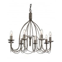 Firstlight Regency 8 Light Traditional Chandelier 2318AS