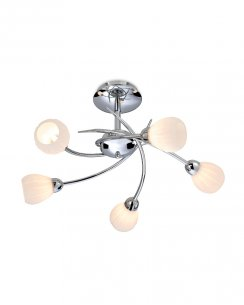 Firstlight Rena 5 Light Modern Semi-Flush Fitting 8235CH