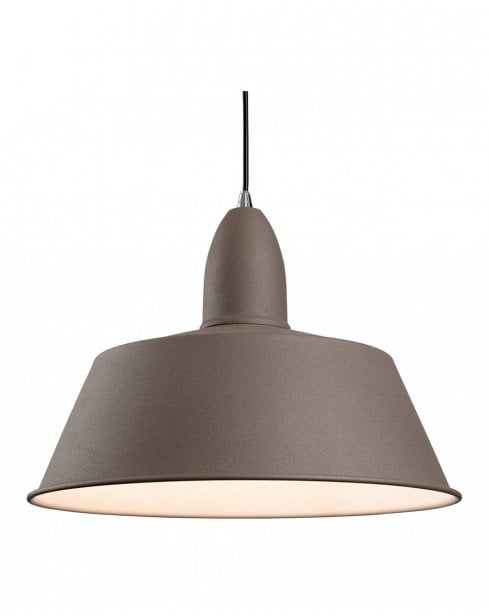 Firstlight Riva Concrete Coloured Ceiling Pendant 3404CN