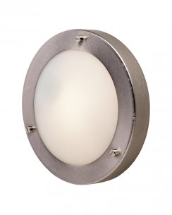 Firstlight Rondo Single Light Modern Decorative Wall Light 2745BS