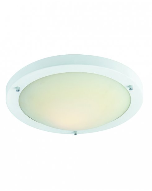 Firstlight Rondo Single Light Modern Flush Ceiling Fitting 2740WH