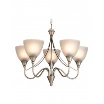 Firstlight Santana 5 Light Traditional Pendant Light 8040SS