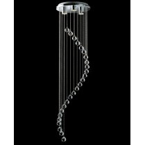 Firstlight Scala 3 Light Crystal Pendant Light 5742CH