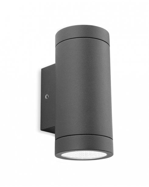 Firstlight Shelby Graphite Outdoor Up & Down Wall Light IP65 5938GP