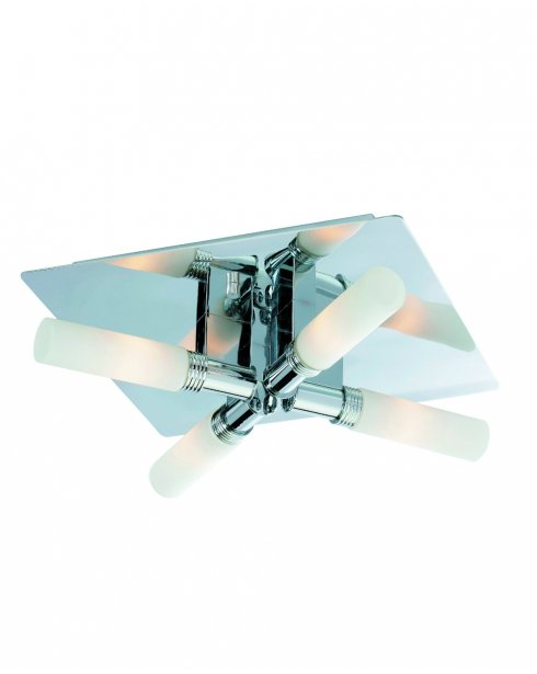 Firstlight Spa 4 Light Modern Bathroom Ceiling Fitting 5755CH
