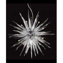 Firstlight Tiara 12 Light Crystal Pendant Light 6040CH
