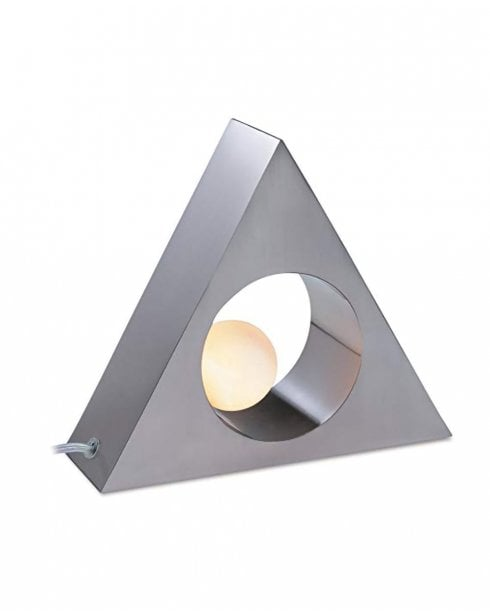 Firstlight Triangle Decorative Table Lamp 5486BS