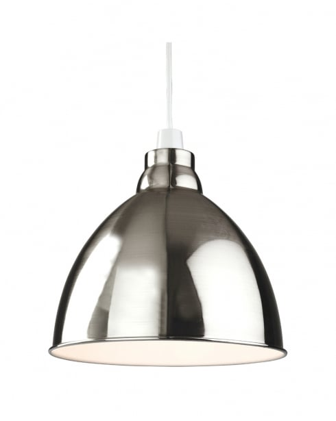 Firstlight Union Light Modern Non-electric Brushed Chrome Pendant Shade 2312BC