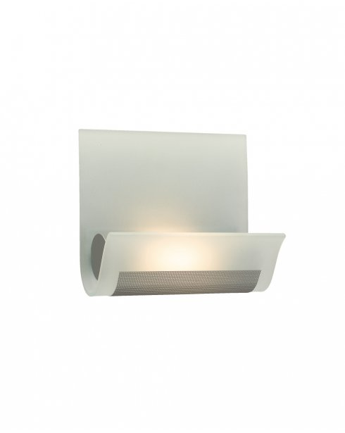 Firstlight Vetro Single Light Modern Decorative Wall Light WL228SS