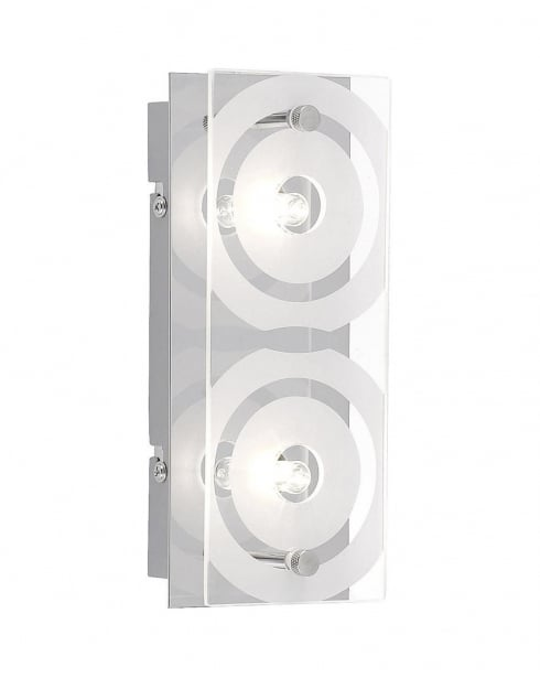 Leuchten Direkt Biela Modern Steel Flush Ceiling Fitting 11205-17